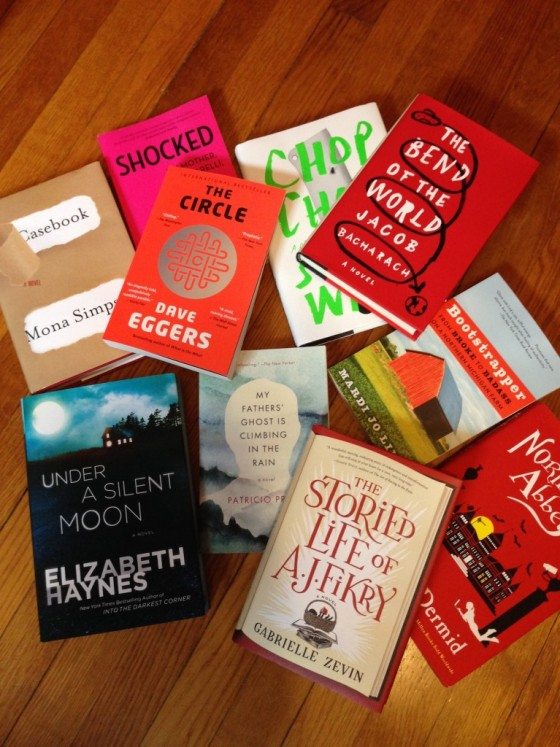 Book Riot book giveaway