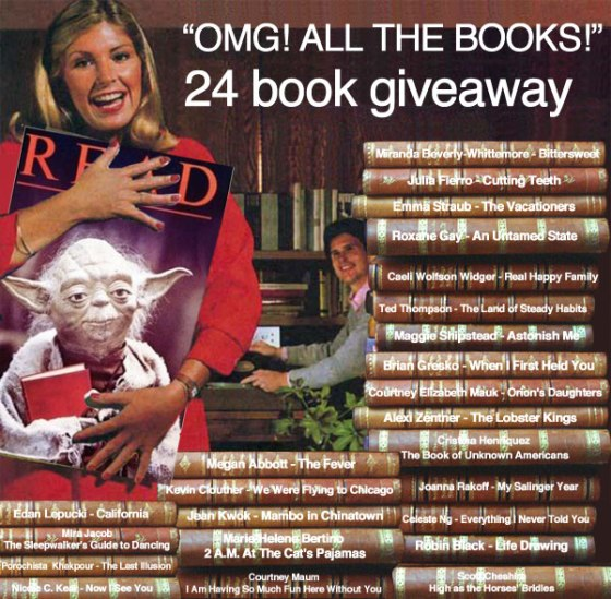 OMG All the Books Giveaway